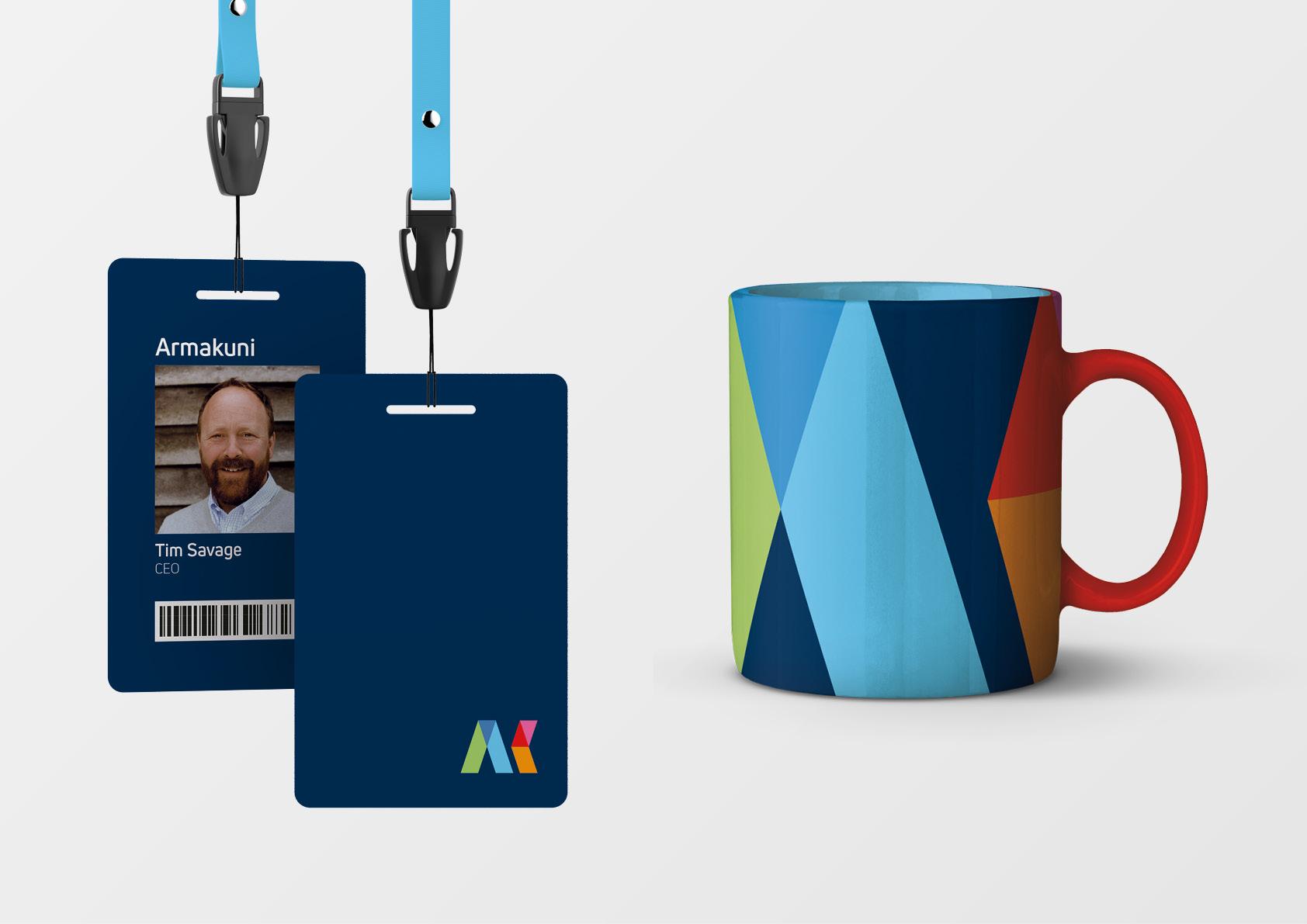 Armakuni–Branding–Lanyard-and-Mug