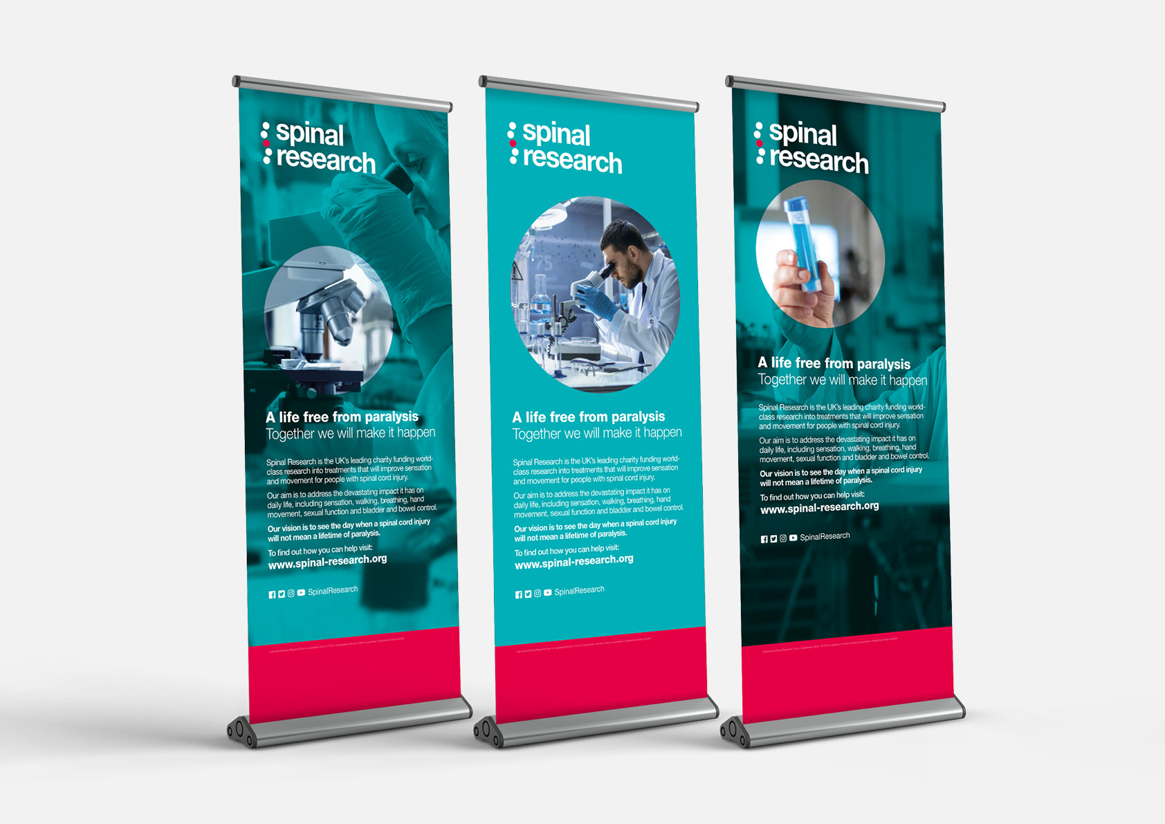Spinal–Research–Roller-Banners